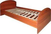 Металлические кровати  для бюджетных организаций , одноярусные кровати